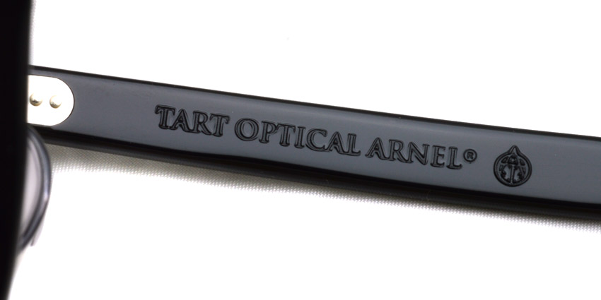 TART OPTICAL ARNEL / JD-55 / 001 BLACK / ¥36,000 + tax