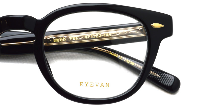 EYEVAN / WEBB / PBK / ¥27,000+tax