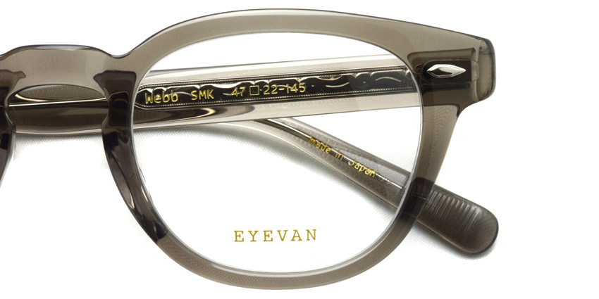 EYEVAN / WEBB / SMK / ¥27,000+tax