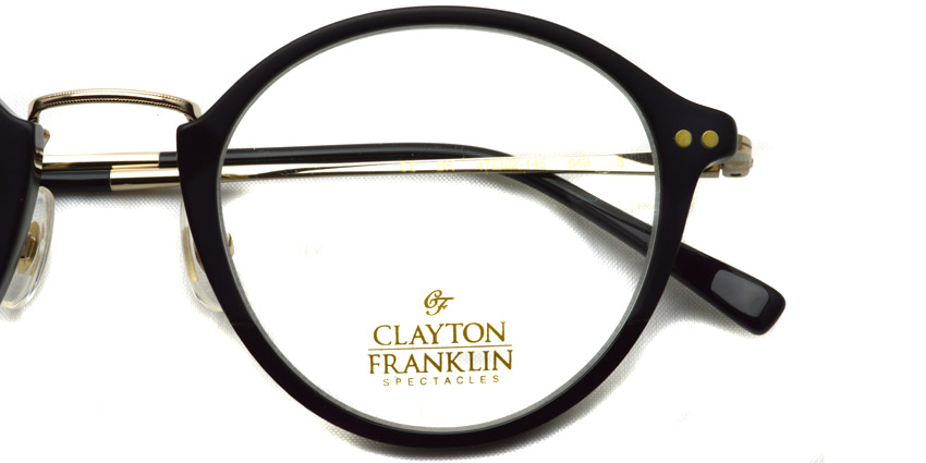 CLAYTON FRANKLIN / 643 / BK / ¥30,000 + tax