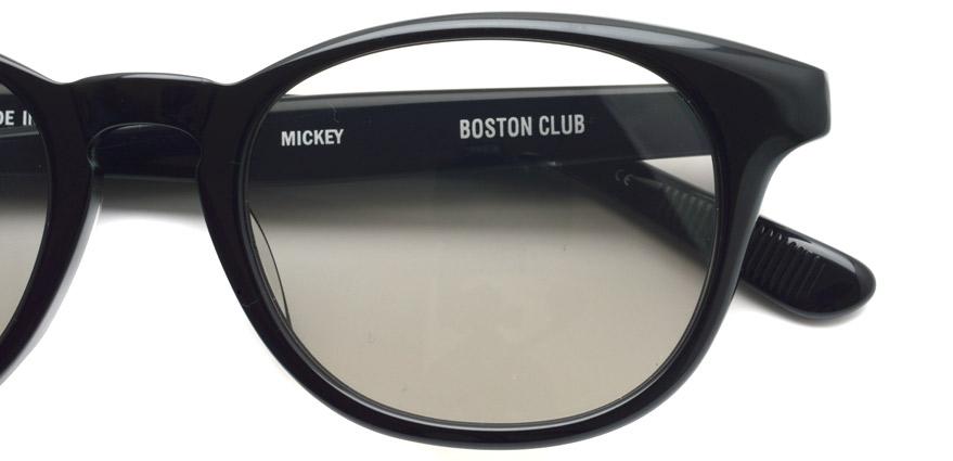 BOSTON CLUB / MICKEY01 / Black - Gray / ¥26,000+tax