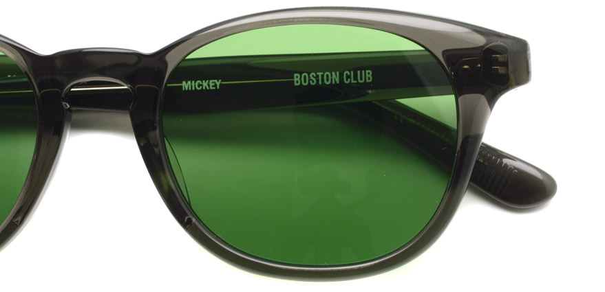 BOSTON CLUB / MICKEY03 / GrayClear - Green / ¥26,000+tax