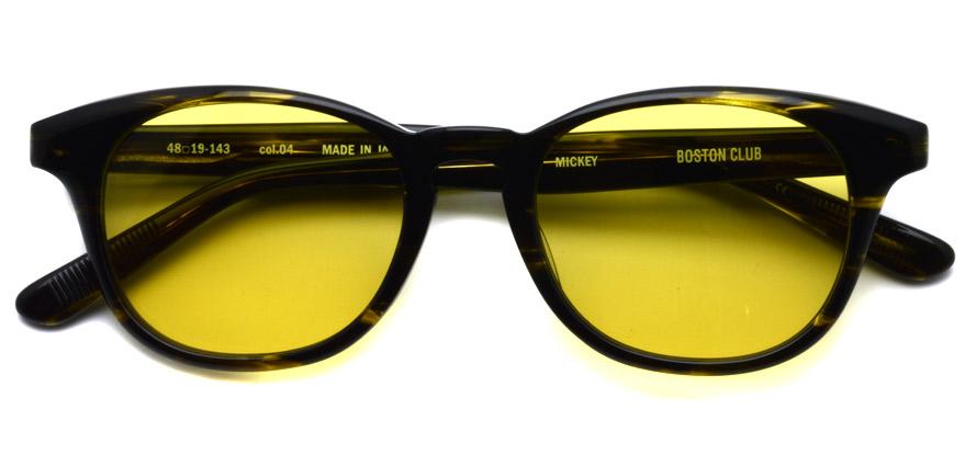 BOSTON CLUB / MICKEY04 / Kahki Sasa - Mustard / ¥26,000+tax