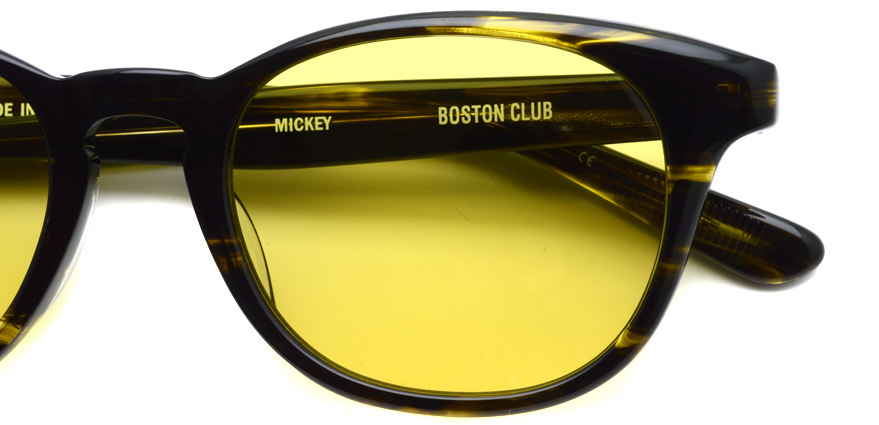 BOSTON CLUB / MICKEY04 / Kahki Sasa - Mustard / ¥26,000+tax