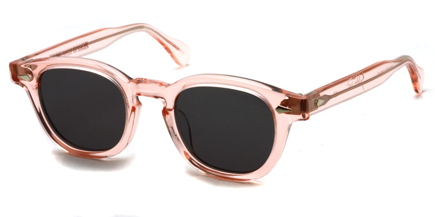 JULIUS TART OPTICAL / AR Sun/ Flesh Pink - Dark Grey Lenses / Bridge : 22mm / ¥39,000+tax