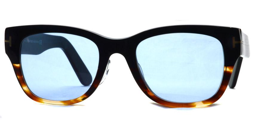 "TOMFORD / TF5379 ""Asian Fit"" / 005 - Light Blue Lenses"
