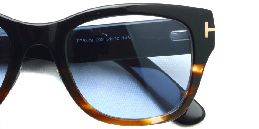 "TOMFORD / TF5379 ""Asian Fit"" / 005 - Light Blue Lenses / ¥47,000 + tax"