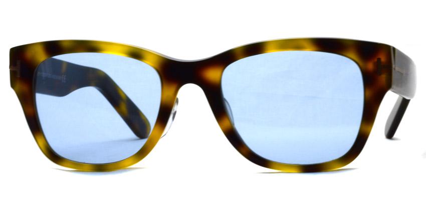 "TOMFORD / TF5379 ""Asian Fit"" / 052 - Light Blue Lenses"