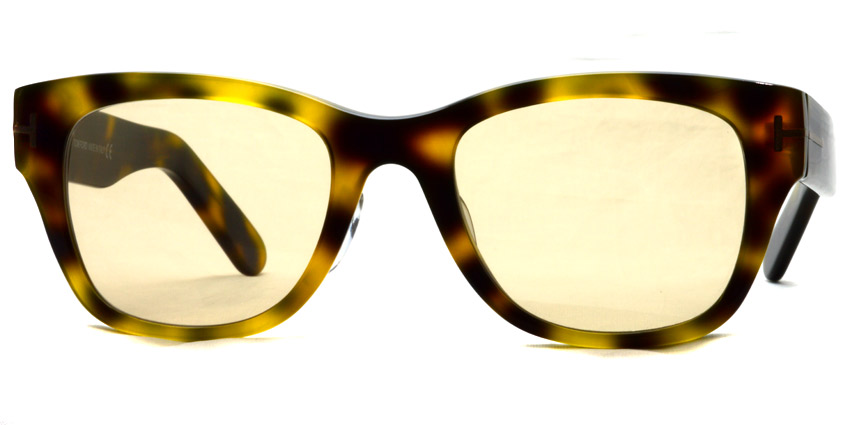 "TOMFORD / TF5379 ""Asian Fit"" / 052 - Light Brown Lenses"