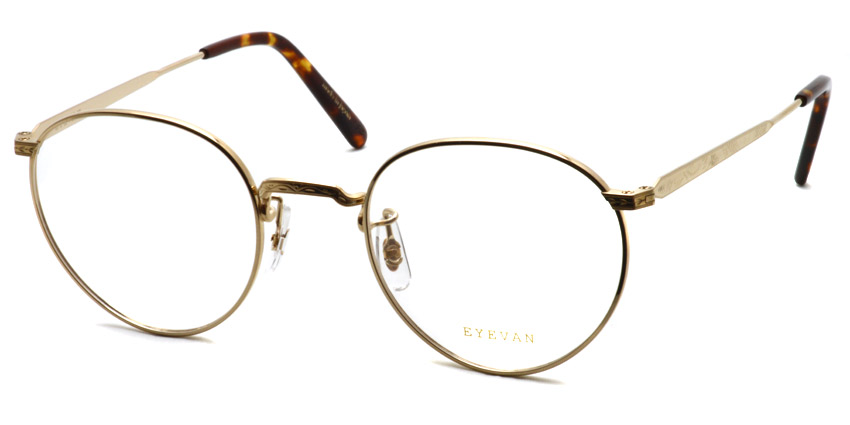 EYEVAN / E-0020 / Gold / ¥29,000+tax