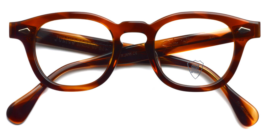 JULIUS TART OPTICAL / AR / DEMI AMBER / ¥37,000+tax