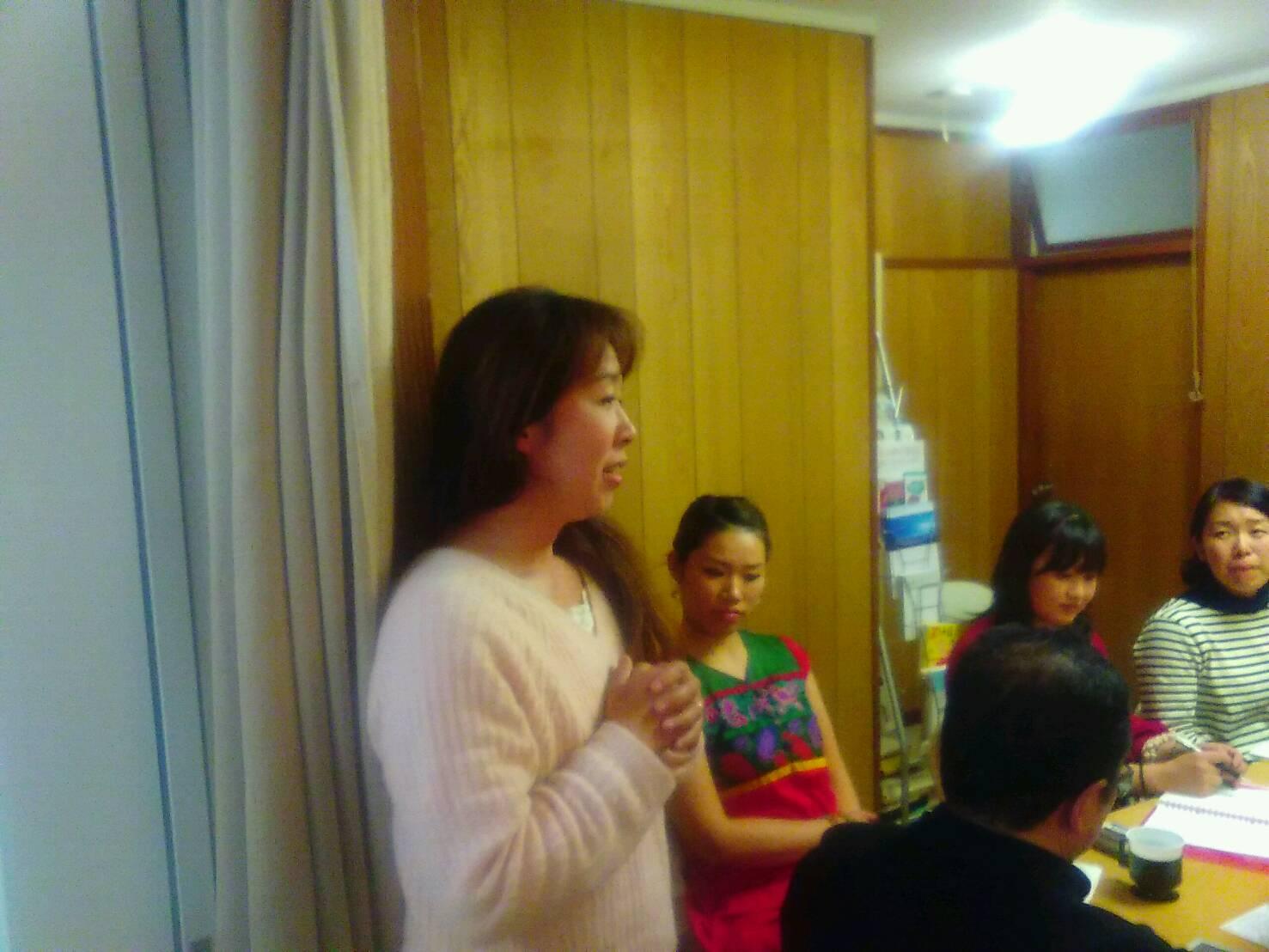 2017年11月9日愛の子育て塾第11期第4講座開催しました。