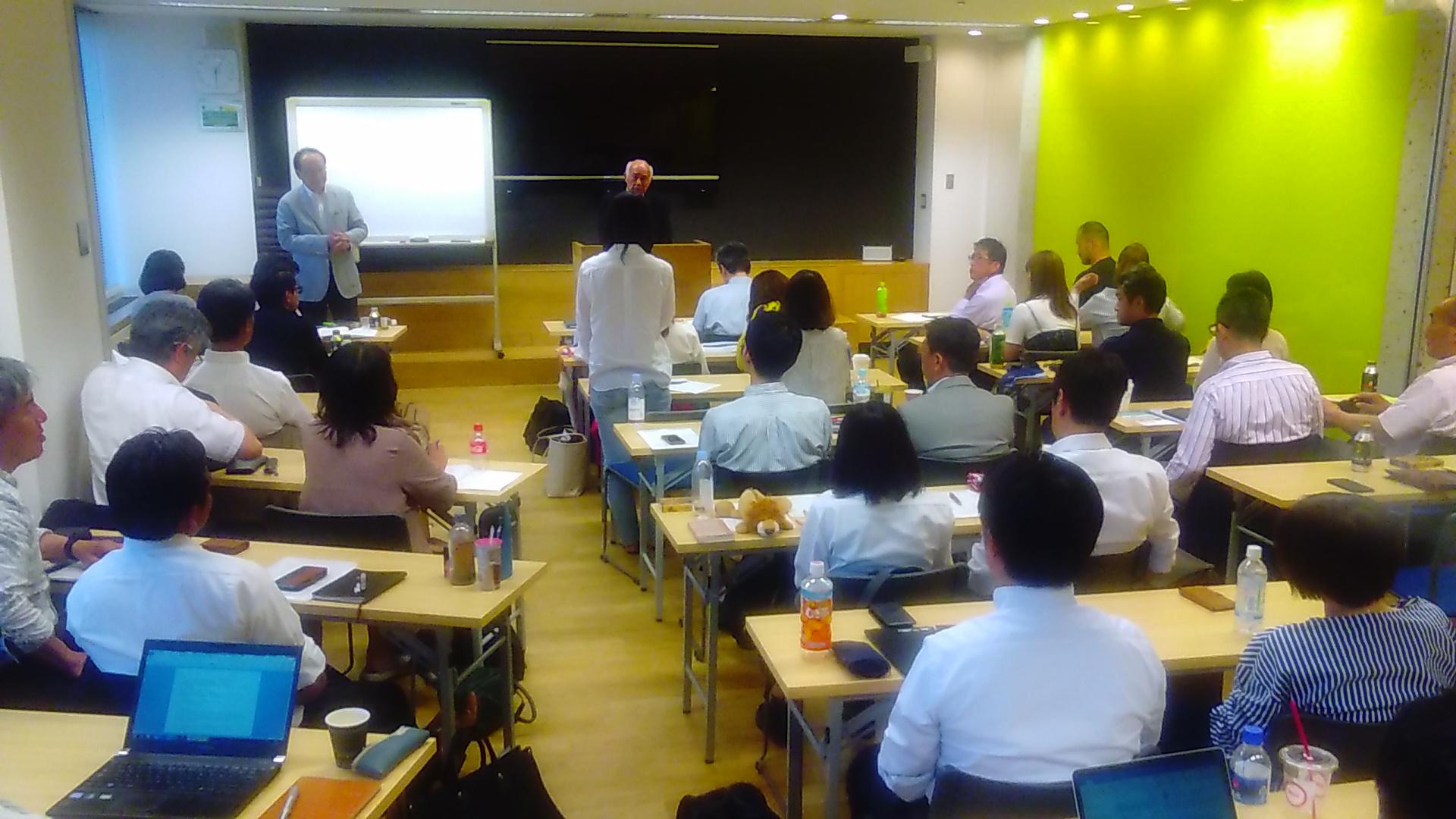 2018年6月2日東京思風塾開催しました