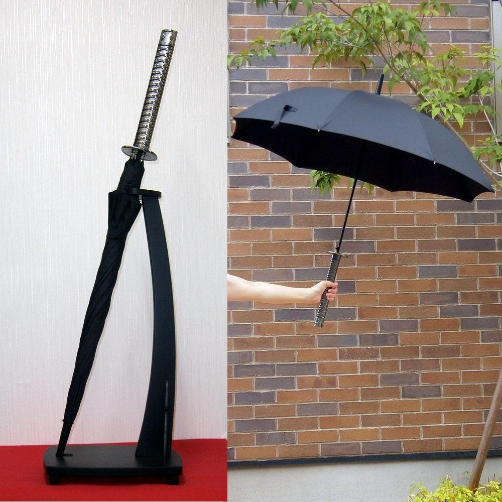 日本刀の形をした傘