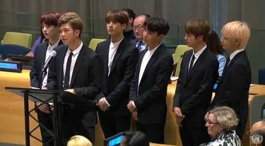 国連 スピーチ bts