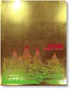 金箔調クリアファイル(兼六園〜雪吊り)【RCP】02P06jul13