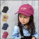 【5千円以上送料無料】Kids NY Twill Cap(GRIN BUDDY) 帽子 キッズ 子供 男の子 女の子 キャップ 刺繍 ニューヨーク 親子