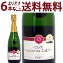 (金賞)スパークリングワイン カヴァ ブリュット 750ml (アシエンダ デル カルチェ)【...