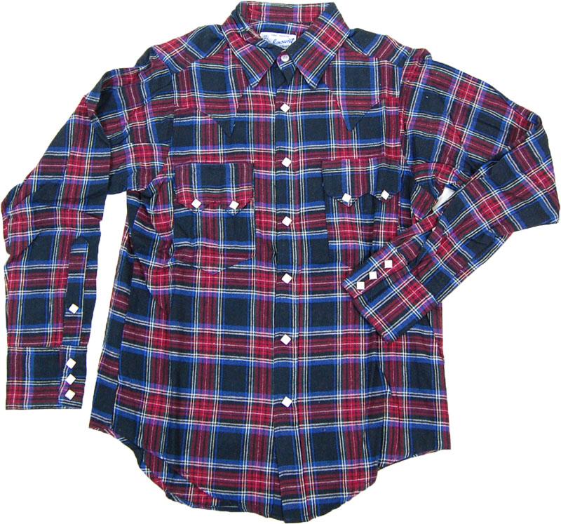 Rockmount Ranch Wear チェックネルシャツ