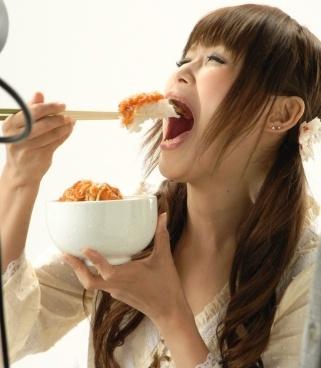 「ギャル曽根 食べ方」の画像検索結果