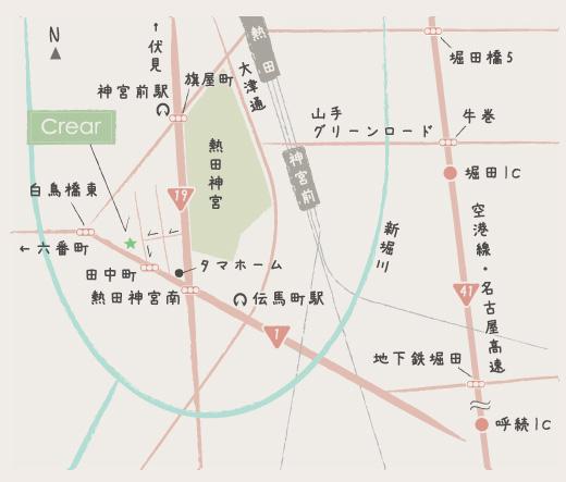 クレアール スタイル マップ