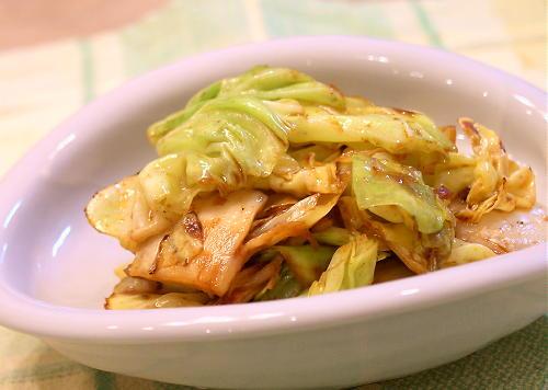 キャベツとキムチのオイスターソース炒めレシピ