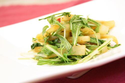 大根とキムチのナンプラー炒めレシピ
