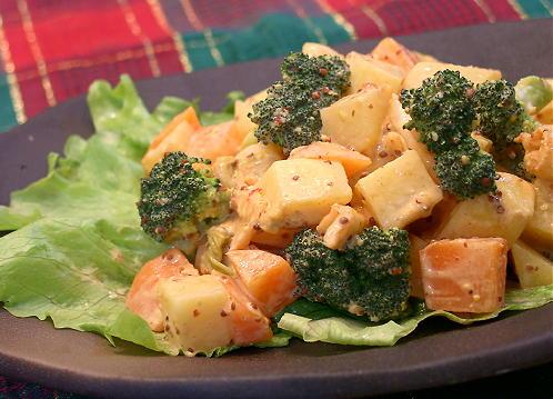 温野菜のキムチマスタードレシピ