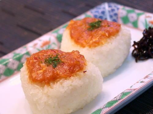キムチ味噌の焼きおにぎりレシピ