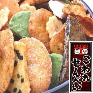 【訳あり】草加・おまかせ割れせんべい(煎餅) 2kg缶