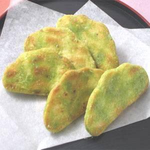 【無着色】草加・枝豆せんべい(煎餅) 48枚(1枚パック12本×4袋)