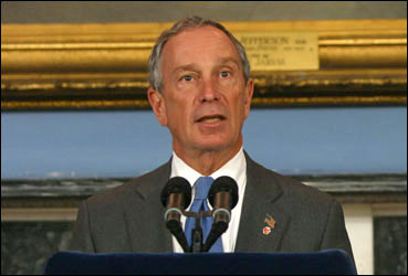 Photo of Mayor Michael R. Bloomberg