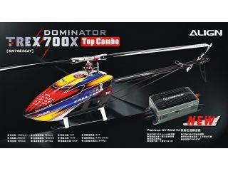 [RH70E35AW]T-REX 700X TOP Combo
