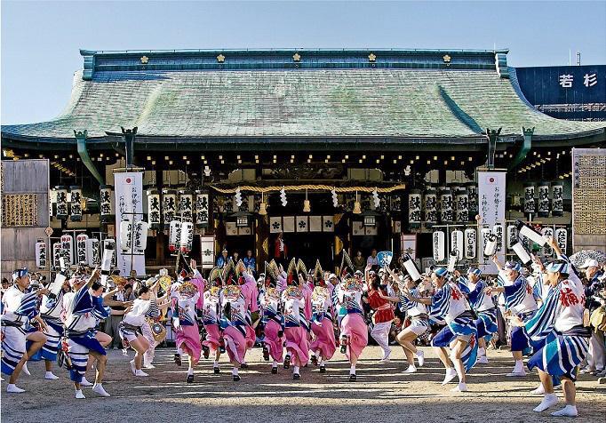 「大阪天満宮 阿波踊り」の画像検索結果