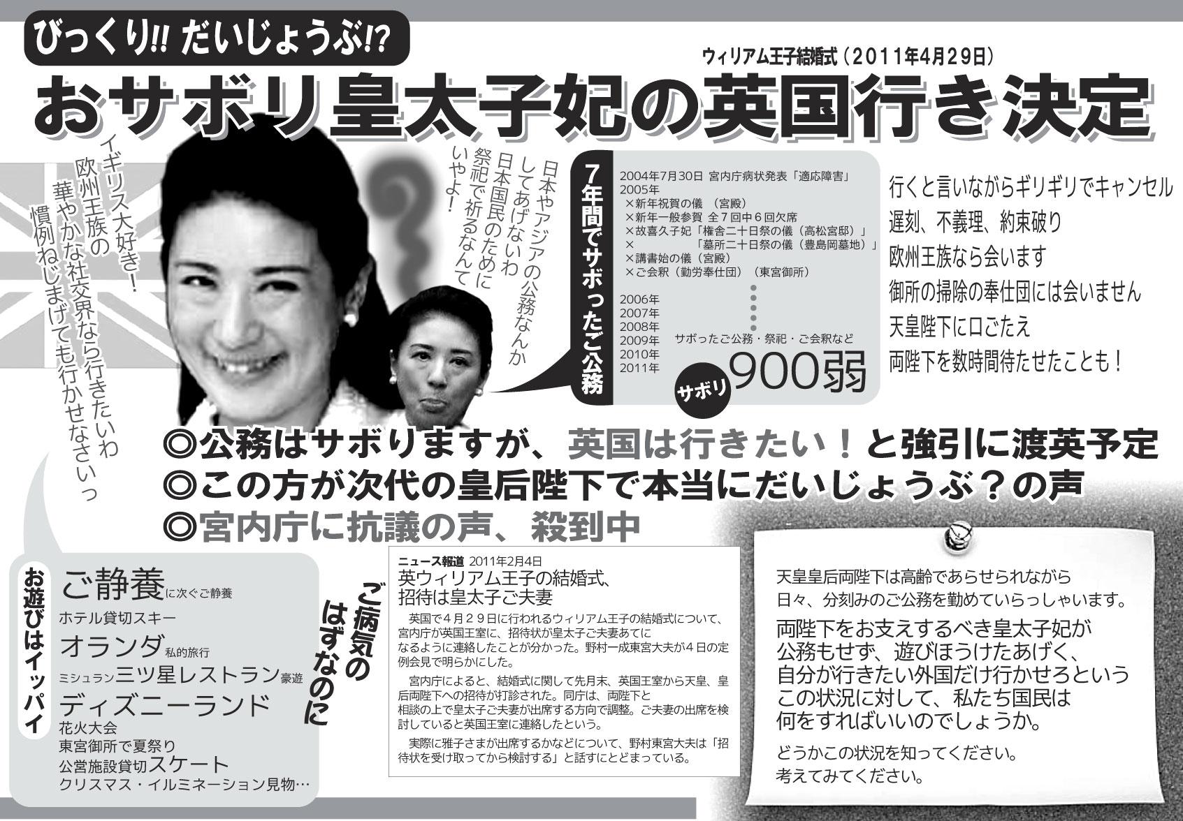 克彦 雅子 奥 小和田